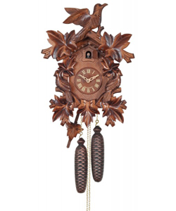 "(16"") Hand-carved Birds & leaves"