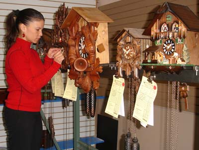 Keil's Clock Shop is the Largest clock shop in the entire St. Louis area