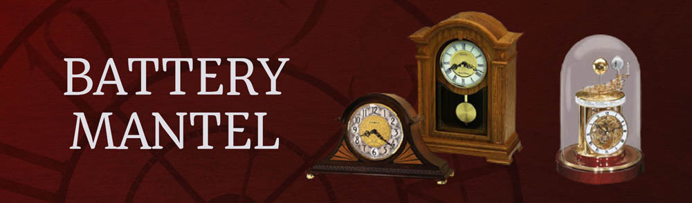 Battery Mantel Clocks